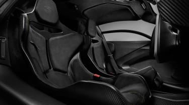 McLaren Senna Carbon Theme - seats