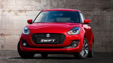 New Suzuki Swift - front