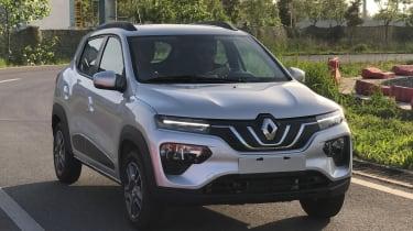 Renault K-ZE - front tracking