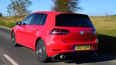VW Golf GTI - rear action