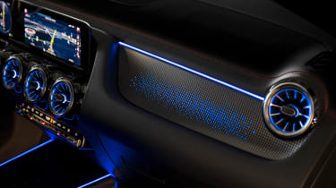 Mercedes EQA prototype - interior