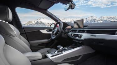 Audi A4 quattro interior