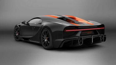 Bugatti Chiron Supersport 300+ - rear static