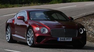 Bentley Continental GT - front cornering