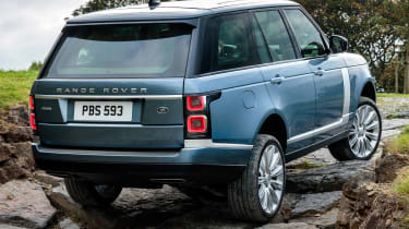 Updated Range Rover - rear off-road