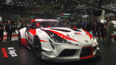 Toyota GR Supra concept Geneva 2018