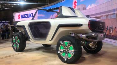 Suzuki e-Survivor - Tokyo side/rear
