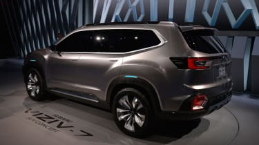 Subaru VIZIV-7 SUV Concept - LA Motor Show rear
