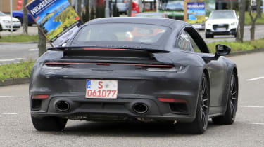 Porsche 911 Turbo S - spyshot 8