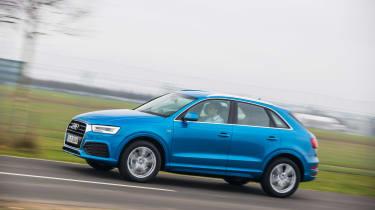 New Audi Q3 2015 side