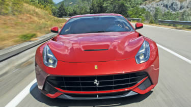 Ferrari F12 Berlinetta front action