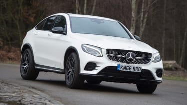 Mercedes GLC Coupe - front