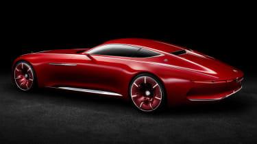 Mercedes-Maybach 6 concept coupe - studio rear quarter