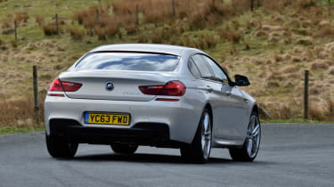 BMW 6 Series Gran Coupe 2014 rear action
