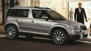 Skoda Yeti Laurin Klement Edition Auto Express