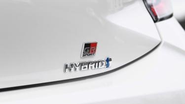 Toyota Corolla GR Sport - Hybrid badge