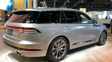 Lincoln Aviator  - LA Motor Show - rear