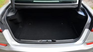Maserati Quattroporte 2014 boot