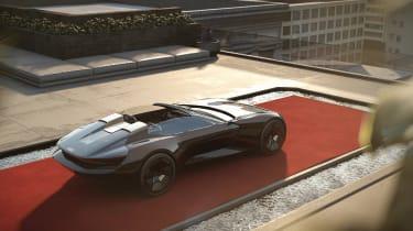 Audi skysphere concept - roof down