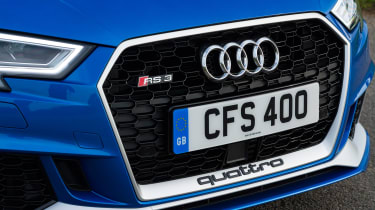 Audi RS3 Sportback - grille