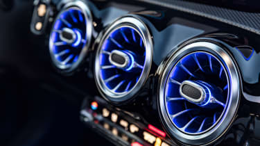 New Mercedes A-Class - dials