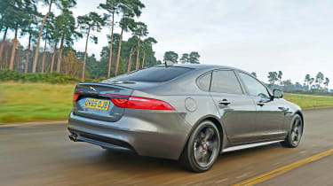 Jaguar XF - rear