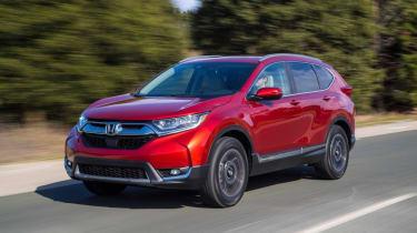 New Honda CR-V - front