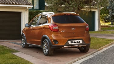 Ford Ka+ Active - rear static