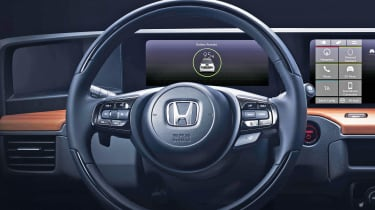Honda Urban EV interior teaser