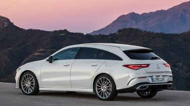 Mercedes CLA - rear static