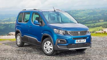 Peugeot Rifter Allure BlueHDI diesel front static