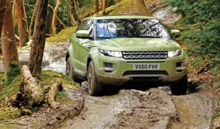 Range Rover Evoque corner