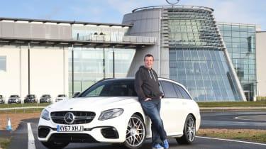 Mercedes-AMG E 63 S long termer - first report header