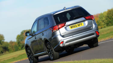 Outlander's 436-litre boot is decent. Diesel comes in seven-seat guise as standard, but due to the placement of the batteries, the PHEV only has a five-seat set-up