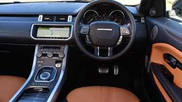 Range Rover Evoque SD4 - dash