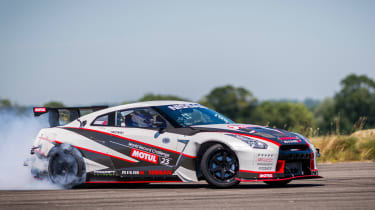 Nissan GT-R 1,390bhp drift car - drift 6
