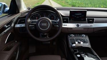 Audi A8 saloon 2014 interior