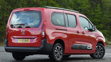 Citroen Berlingo XL Flair long termer - rear static