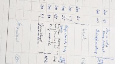Strokes of genius - notes paper