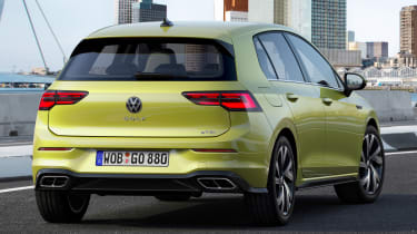 Volkswagen Golf R-Line - rear tracking