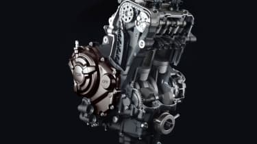 Yamaha MT-07 review - engine