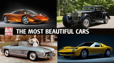 Most beautiful cars header