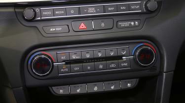 Kia Ceed - centre console