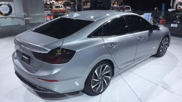 Honda Insight Prototype - Detroit rear