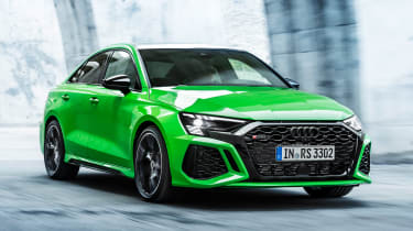 Audi RS 3 Saloon - front tracking