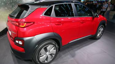 Hyundai Kona Electric - Geneva rear