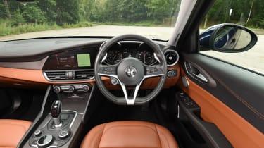 Alfa Romeo Giulia long term test - first report dash