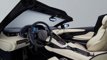 Lamborghini Aventador S Roadster - cockpit