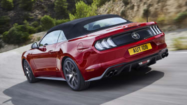 Ford Mustang55 ecoboost rear