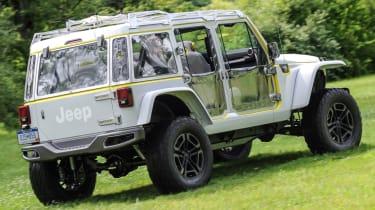 Jeep's wildest concepts driven - Safari rear quarter static